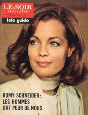 Romy Schneider - Le Soir Illustré 1974